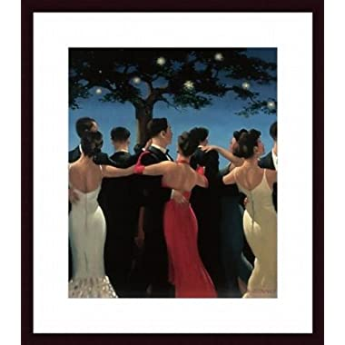 Printfinders Waltzers by Jack Vettriano Custom Wood Framed Art Print