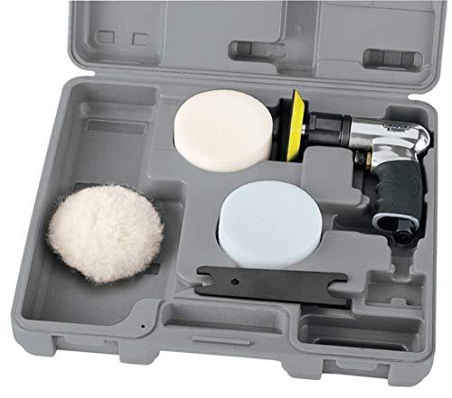 Draper 47616 Expert Kompaktes Druckluft-Polierset 75 mm mit Soft Grip