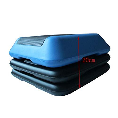 LHY-Stepbenches HöHenverstellbarer Aerobic Step-Plattform Anheben Block-Home Gym Fitness Workout AusrüStung Keine Feste OberfläChe Schritt - 40x40cm