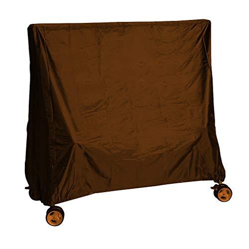 Meubelbeschermhoes tafeltennistafel baldakijn waterdichte buitenafdekking tuinterras stofbescherming waterdicht 190 gecoat zilver polyester TAFT 155 * 75 * 150 cm
