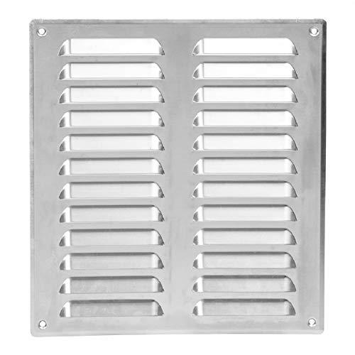 260x280 mm Aluminium Lüftungsgitter Abschlussgitter Insektenschutz Abluft Zuluft Metall Gitter