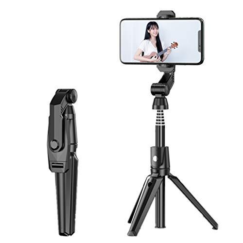 YEEWA Selfie-Stick, 105,9 cm, ausziehbar, Selfie-Stativ, Handy-Stativ mit kabellosem Fernauslöser, kompatibel mit iPhone Android für Live-Video