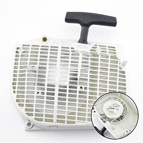 LIBEI Retroceso, rebobinado, tracción, Montaje de Arranque fácil, Compatible con Motosierra STIHL 066 MS660 MS650, Nueva Pieza de Motor de Motor