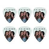 Friends The Girls Novelty Guitar Picks Medium Gauge - Set of 6