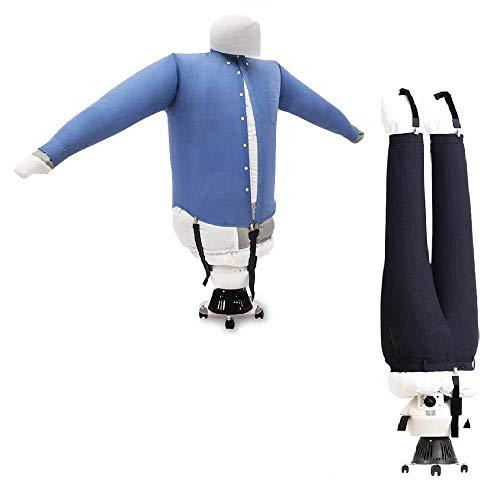 EOLO RepaSSecheur repasse et sèche automatiquement Chemises, Chemisiers, Pantalons, Shorts. Il rafraîchit vêtements avec air Froid Repassage Vertical Professionnel avec...