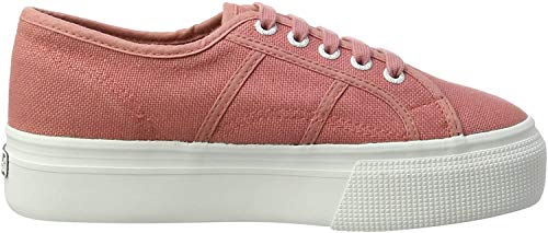Superga Damen Acotw Linea Up and Down Sneaker, Pink Dusty Rose C06, 38 EU