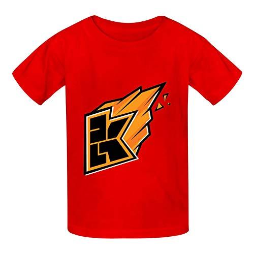 Youthigoe Kwe-bbelkop Kids Tshirt Graphic Workout...
