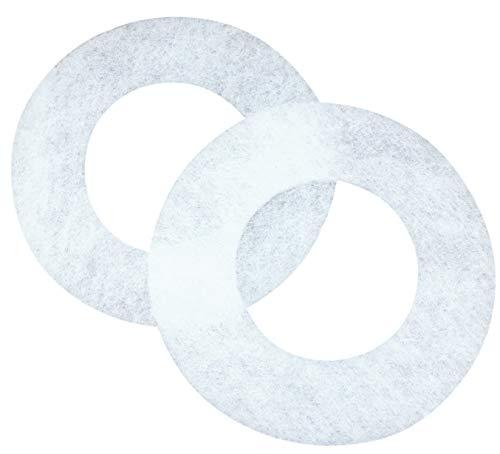 SN-TEC Universal Filter (220mm außen x 108mm innen) für Balzer Lüfter L-W, L-G, L-G/BM, A 60, A 90 (Mengenauswahl möglich) (2 Stück)