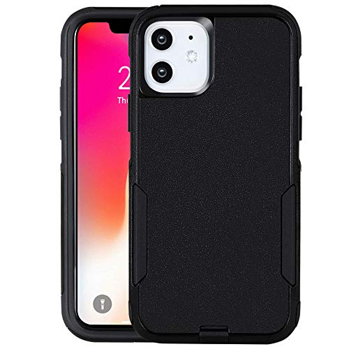 Krichit Pioneer iPhone 11 Case,Pioneer Heavy Duty Case for iPhone 11 Cases 6.1 inch(2019) (Black)