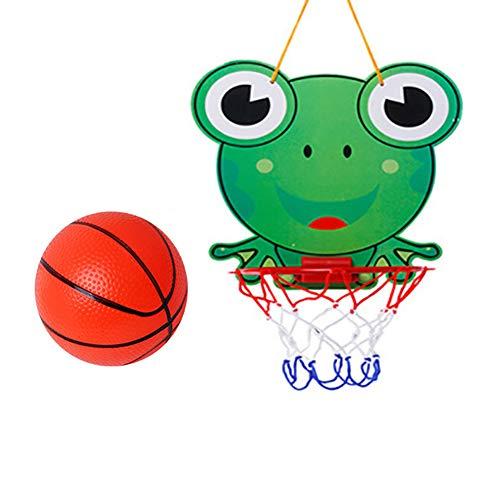 WZR Korbballkorb Fürs Zimmer Für Kinder,Wandhalterung Korbballring Outdoor,Korbball Ring Hoop Hängend Korb Kind Sport Spielzeug Geschenk B 26.5x25cm
