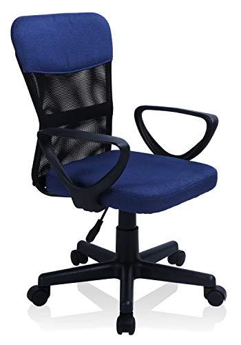 Exofcer Bürostuhl Schreibtischstuhl Computerstuhl Drehstuhl mit Rückenlehne Netzstoff Kinder- und...