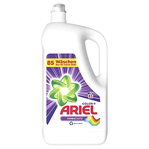 Ariel Waschmittel Flüssig, Flüssigwaschmittel, Color Waschmittel, Farbschutz, 85 Waschladungen (2 x 4.675 L)