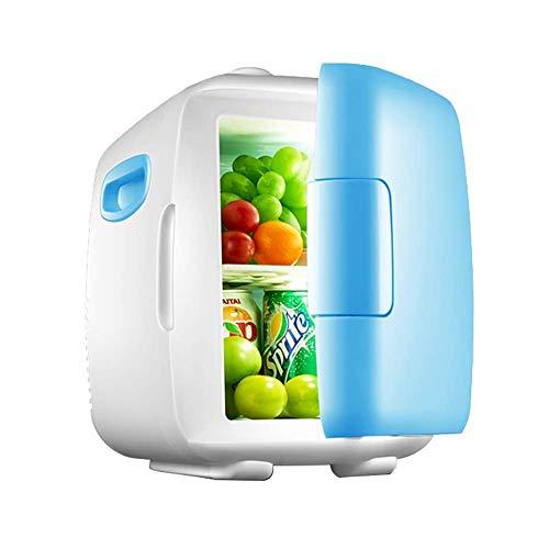 Refrigerador de Coche de 8 l, portátil, eléctrico, portátil, para el hogar, Mini refrigeración de una Sola Puerta para Viajes autónomos, picnics, Pesca, Camping para Coches y Camiones