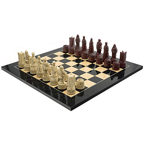 The Regency Chess Company Ltd The Berkeley SCACCHI INGLESE NERO CARDINALE GRAND Set di scacchi
