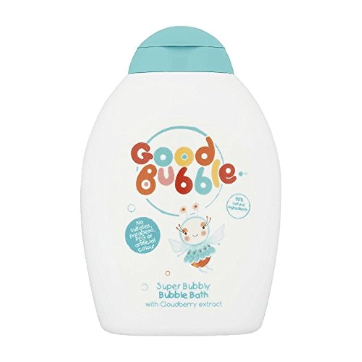 放射能脆い交通Good Bubble Cloudberry Bubble Bath 400ml (Pack of 6) - 良いバブルクラウドベリーバブルバス400ミリリットル (x6) [並行輸入品]