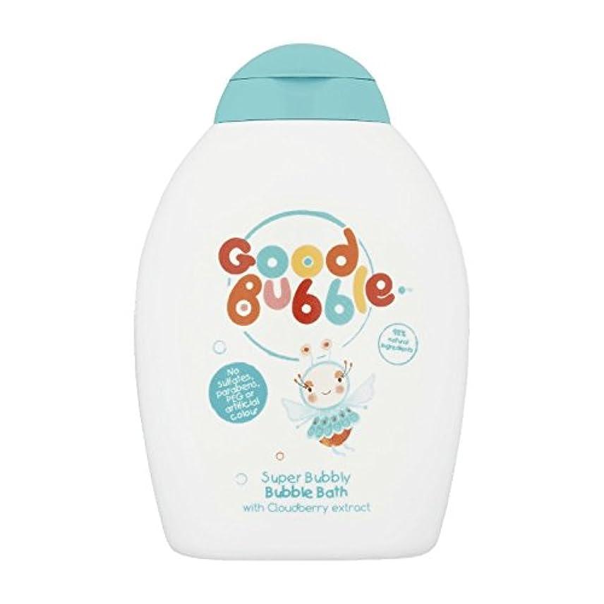 貫入サンダー厳密に良いバブルクラウドベリーバブルバス400ミリリットル - Good Bubble Cloudberry Bubble Bath 400ml (Good Bubble) [並行輸入品]