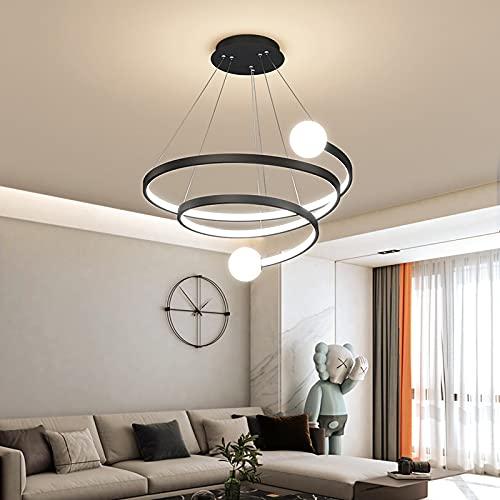 LLDKA LED lámpara Colgante Cristal Bola y Curvas de diseño de Luces...