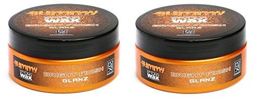 Gummy Styling Wax Bright Finish Glanz, 5 Ounce (2PCS)