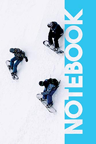 Notebook: Snowboarding Gear Excellent Composition Book for Off Piste Snowboarder