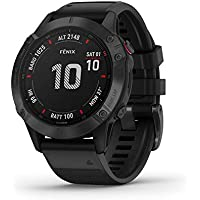 Garmin Fenix 6 Pro Premium Multisport GPS Watch (Black)