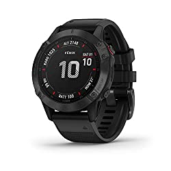best smartwatch for hiking. Fenix 6 is the best garmin hiking watch with advanced features upgraded from last versions- A hiking gps watch with topo maps, heart rate monitoring,