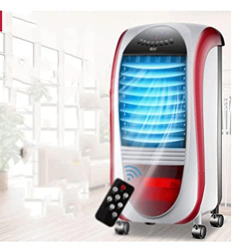 SBSNH Raffreddatore ad aria personale, Mini Space Cooler, Ventilatore for il condizionamento d'aria desktop con umidificatore d'aria compatto a condensatore, tecnologia Clean Tank, (Color : B)