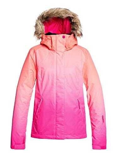 Roxy Jet Ski Se-Chaqueta para Nieve para Mujer, Beetroot Pink Prado Gradient, S