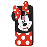 EMF Cute Mouse Case for Samsung Galaxy J8 2018,3D Cartoon Animal...