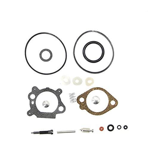 Nuevo Reemplazo del kit de reconstrucción de la reparación de carburador de carburador para Brig gs & Stratton 498260 493762 492495 para 3.5 y 4 HP MAX Series Cortacésped de césped Carburador kit de r