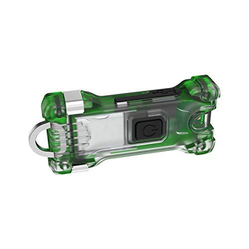 Armytek F06001GR - Linterna de llavero Zippy, Alcance de iluminación hasta 15 m, Color: verde