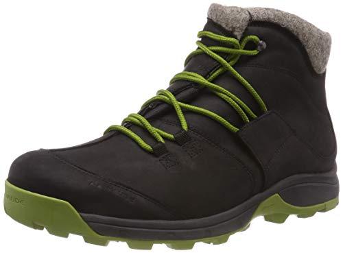 VAUDE Herren Men's Green Core Mid Trekking- & Wanderstiefel, schwarz (Phantom Black 678), 44 EU