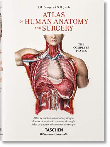 Bourgery. Atlas de anatomía humana y cirugía (español, italiano, portugués): BU (Bibliotheca Universalis)