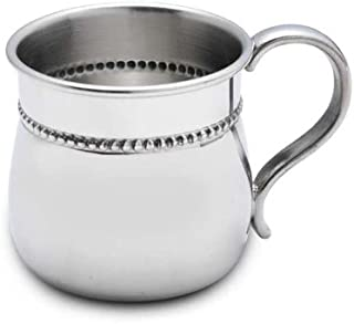 Reed & Barton Reed and Barton Pewter Beaded Border Baby Cup