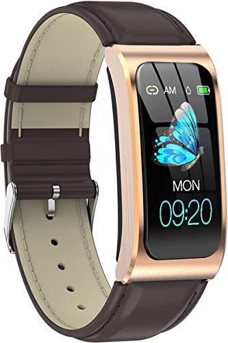 Fitness Tracker Armband Uhr Großes Display IP68 Wasserdicht Schrittzähler Herzfrequenz Blutdruck Schlafmonitor Smartwatch