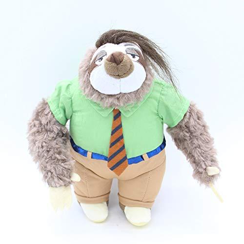 N\A 25cm Cartoon Zoo Tiere Faultier Flash Plüsch Tierspielzeug, Weihnachten Halloween Geburtstagsgeschenk Für Kinder 25cm Slot