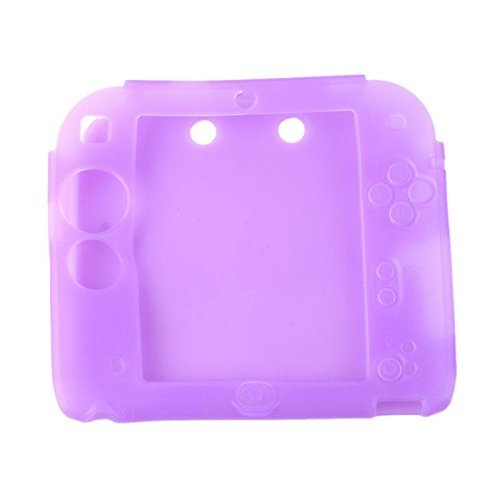 Protective Soft Silicone Rubber Gel Skin Case Cover for Nintendo 2DS (PU)