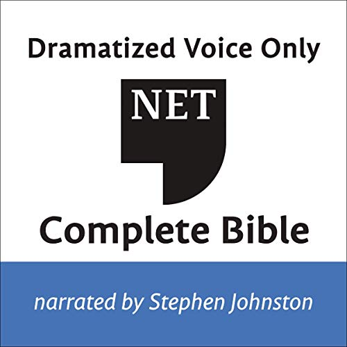 Audio Bible - New English Translation, NET: Complete Bible  By  cover art