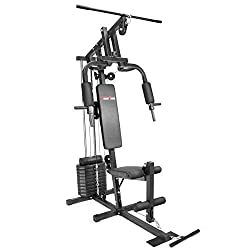 Best budget home gym under $300 review of XtremepowerUS Multifunction Home Gym Fitness Station Workout Machine