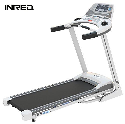 INRED Tapis Roulant MTR 470L NEU Fitness Pieghevole LCD Display mp3Heim Dispositivo Silenzioso