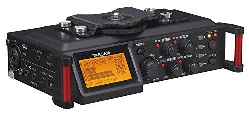 Tascam DR-70D – Grabadora audio 4 canales cámaras