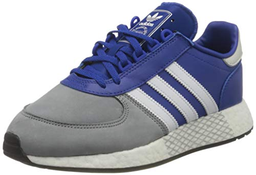 adidas Marathon Tech, Zapatillas Deportivas Hombre, Rojo Y Blanco, 43 1/3 EU