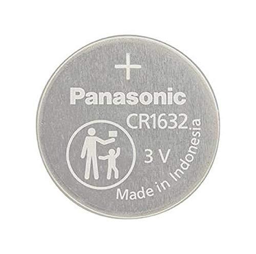 Panasonic CR1632, 1632 3 V, Lithium-Batterie, 4 Batterien pro Packung