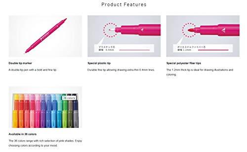 トンボ鉛筆水性サインペンプレイカラー212色GCB-011