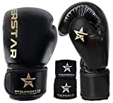 MYSUPERSTARBOXING Pro Boxing Fighting Bag Gloves for Training Sparring Mitts Muay Thai MMA UFC...