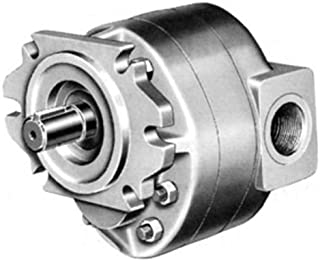 Orange SAEA Mounting 0.75 Cu In//Rev Displacement CROSS Manufacturing 360121 40P007 LAASA Aluminum Hydraulic Gear Pump Splined Shaft SAEA Mounting Left Hand Rotation