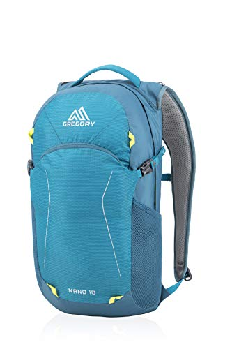 Gregory Mountain Products Nano 18 Liter Daypack, Meridian Teal, One Size