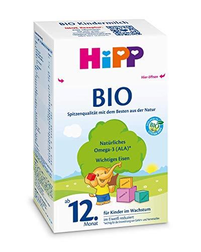 Hipp Bio Kindermilch - ab dem 12. Monat, 2er Pack (2 x 600g)