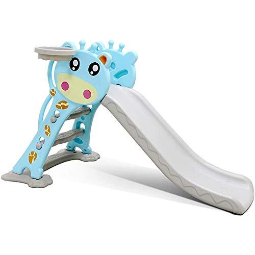 JW-YZWJ Diapositiva para niños, trayectoria Plegable plástica, Juguete de Juego de Interior al Aire Libre, instalaciones de Juegos para niños, Centro de Actividades para niños