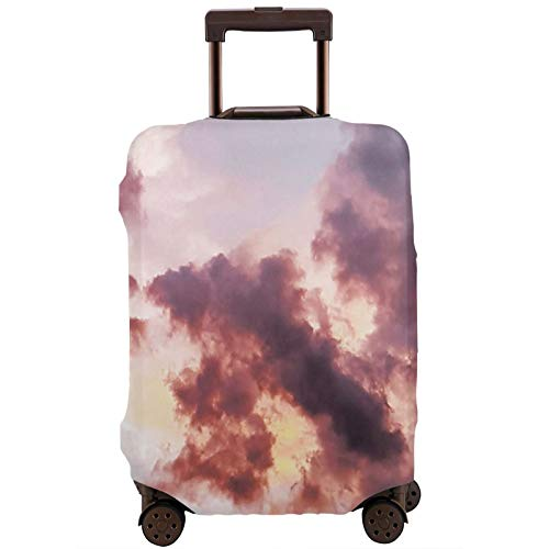 Cloud Travel Suitcase Protector Scratch-Resistant Dust-Proof Stretchable and Flexible Travel Luggage Protective Cover Available in Various Sizes M