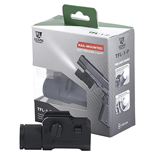 OZARK ARMAMENT 500 Lumen Pistol Light - Sealed for Water...
